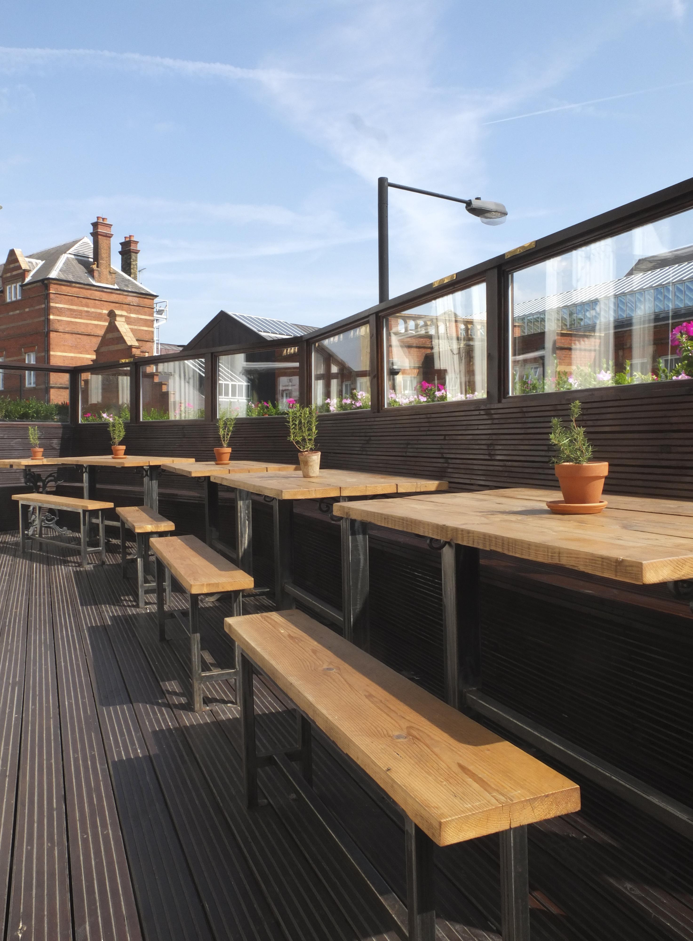 London pub roof garden relic interiors london for 18 leinster terrace london w2 3et