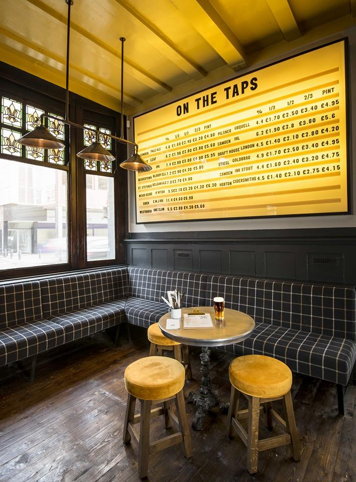 Craft Beers London Relic Interiors London
