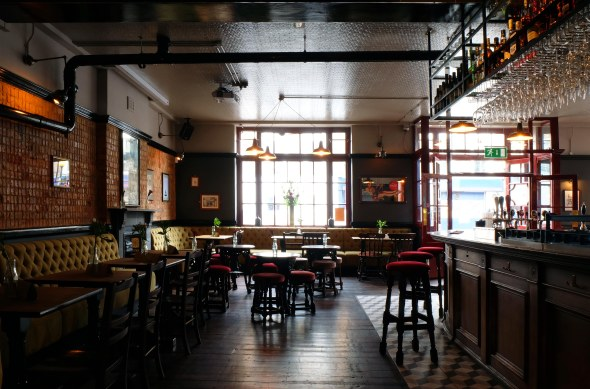 New london pub relic interiors london - Inside bar designs ...