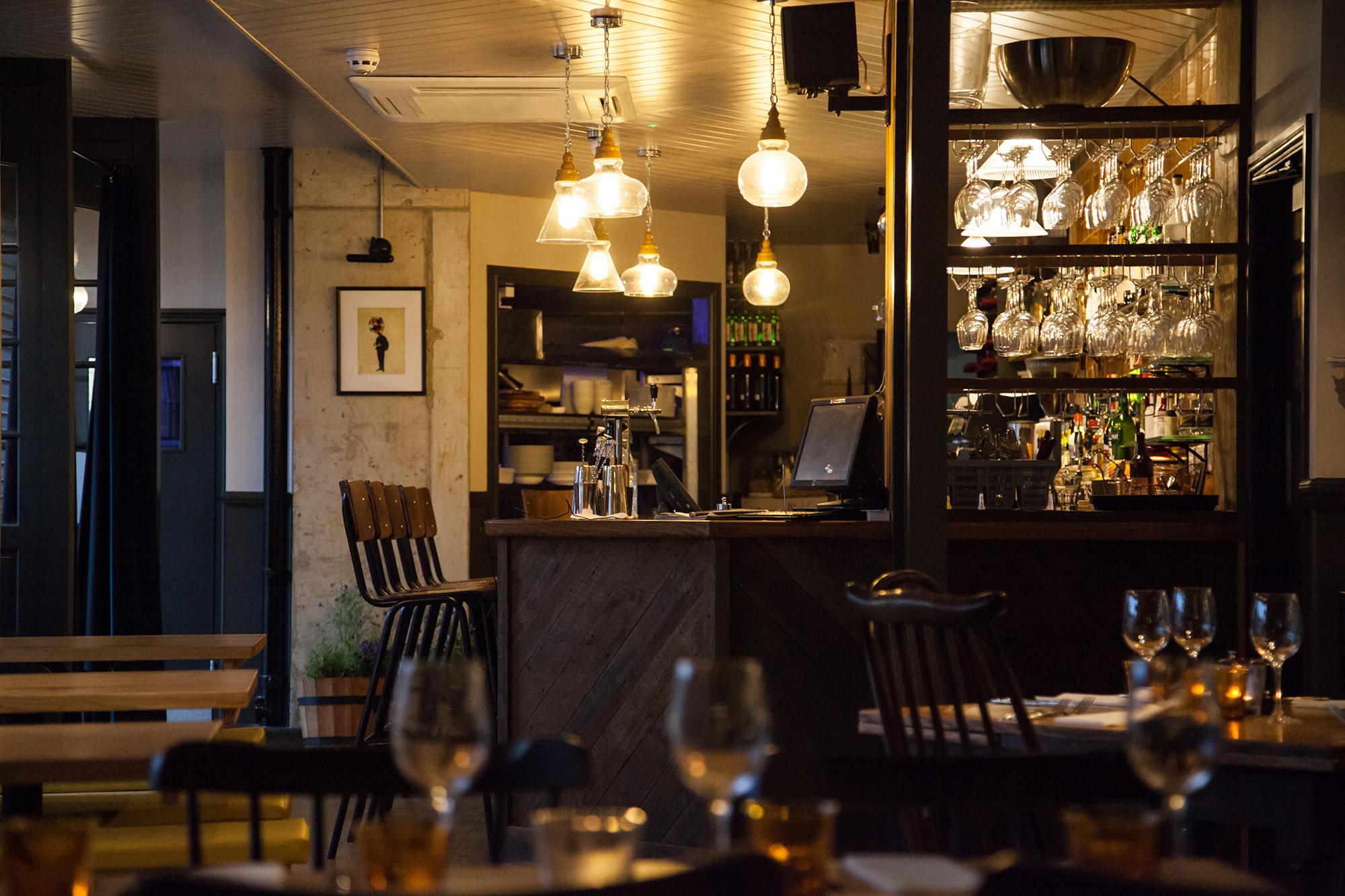 Restaurant interior designer relic interiors london